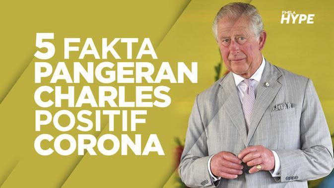 Pangeran Charles Positif Virus Corona, Ini 5 Faktanya