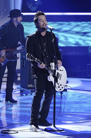 "David Cook performs ""The Last Goodbye"" on ""American Idol."""