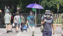 雲嘉南高屏豪大雨特報 北、東部36度以上高溫