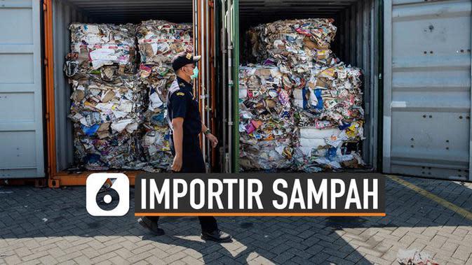 VIDEO: Tegas, Ini Ancaman Pidana Importir Sampah ke Indonesia