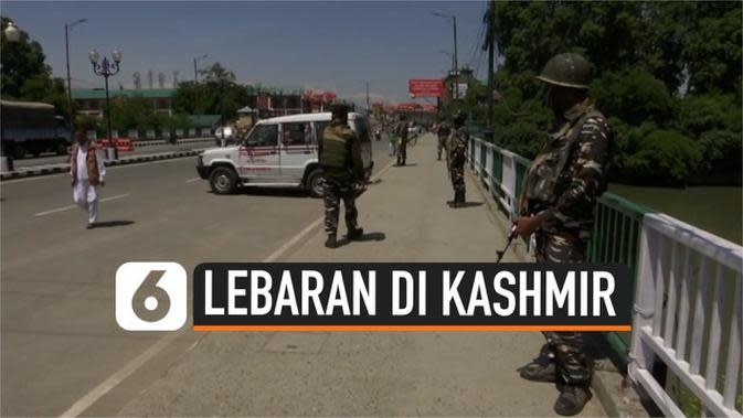 VIDEO: Kashmir Masih Sepi Jelang Hari Raya Idul Fitri
