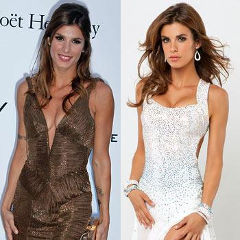 Elisabetta Canalis's Tattoos Mysteriously Absent From 'DWTS' Photos