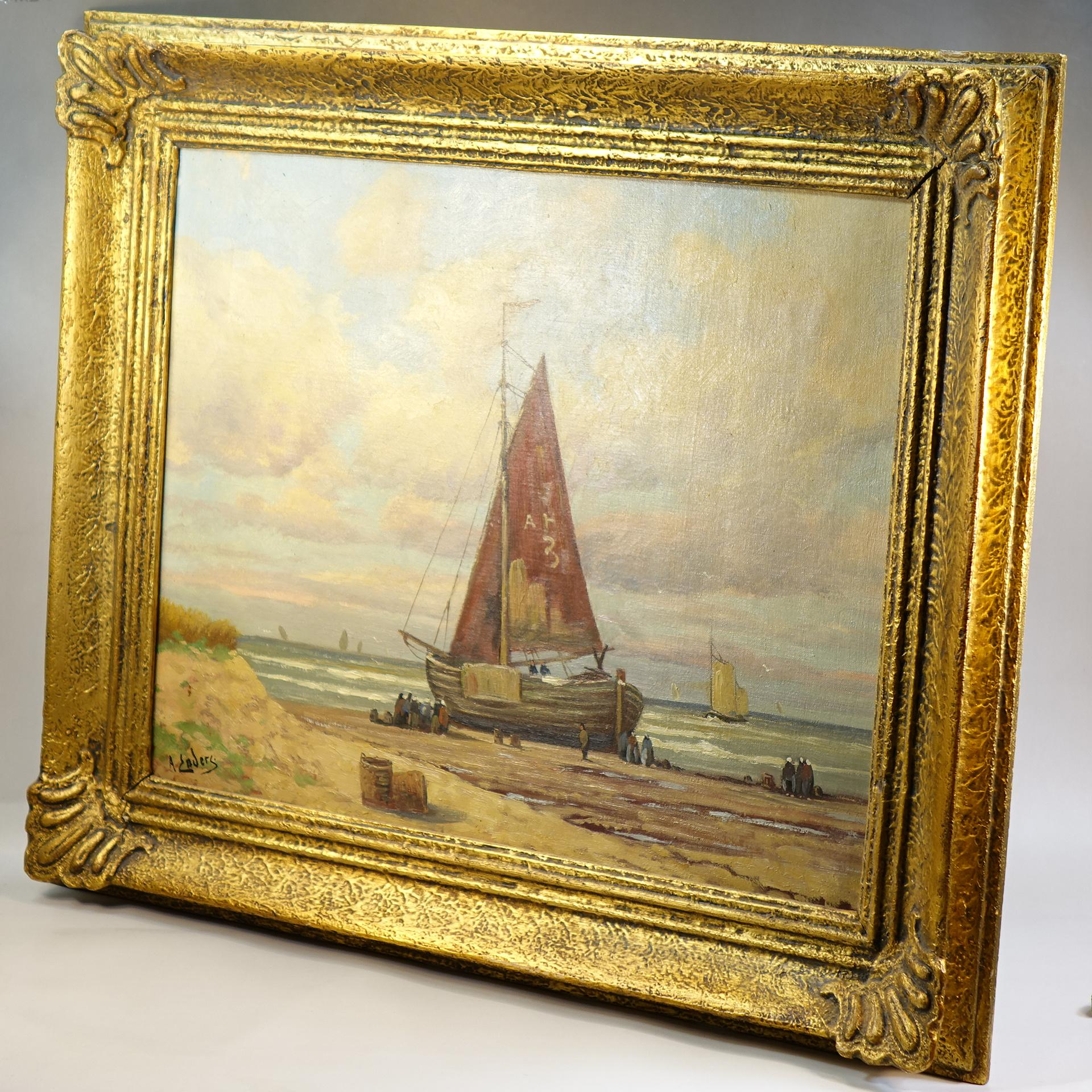 1920s歐洲藝術家古董繪畫