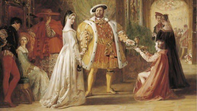 Kisah Raja Inggris Henry VIII Menikahi Anne Boleyn, Anaknya Sendiri