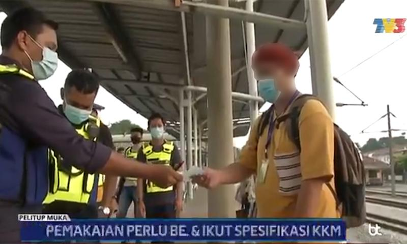 Netizens rally behind youth fined over mask rule, question uneven enforcement
