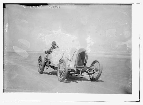 April 23: Bob Burman set the world speed record in the Blitzen Benz on this date in 1911