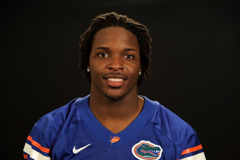 GAINESVILLE, FL - 2011: Neiron Ball of the Florida Gators poses for a portrait circa 2011 in Gainesville, Florida. (Photo by Florida/Collegiate Images via Getty Images)