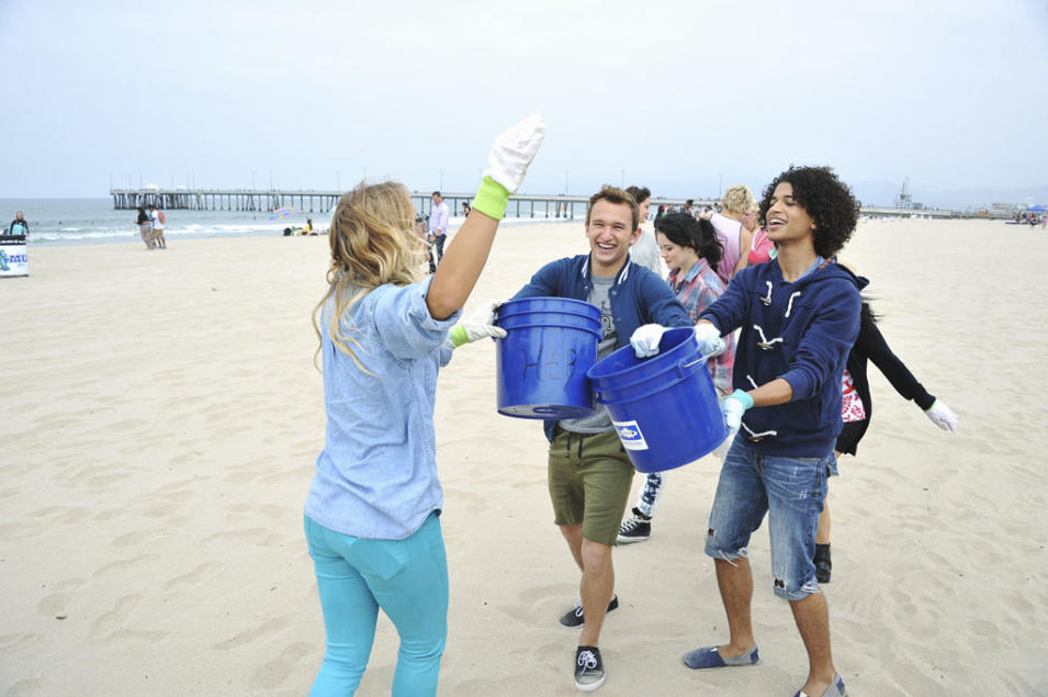 """Teen Beach Movie"" - Mollee Gray, Kent Boyd, Grace Phipps, Jordan Fisher"