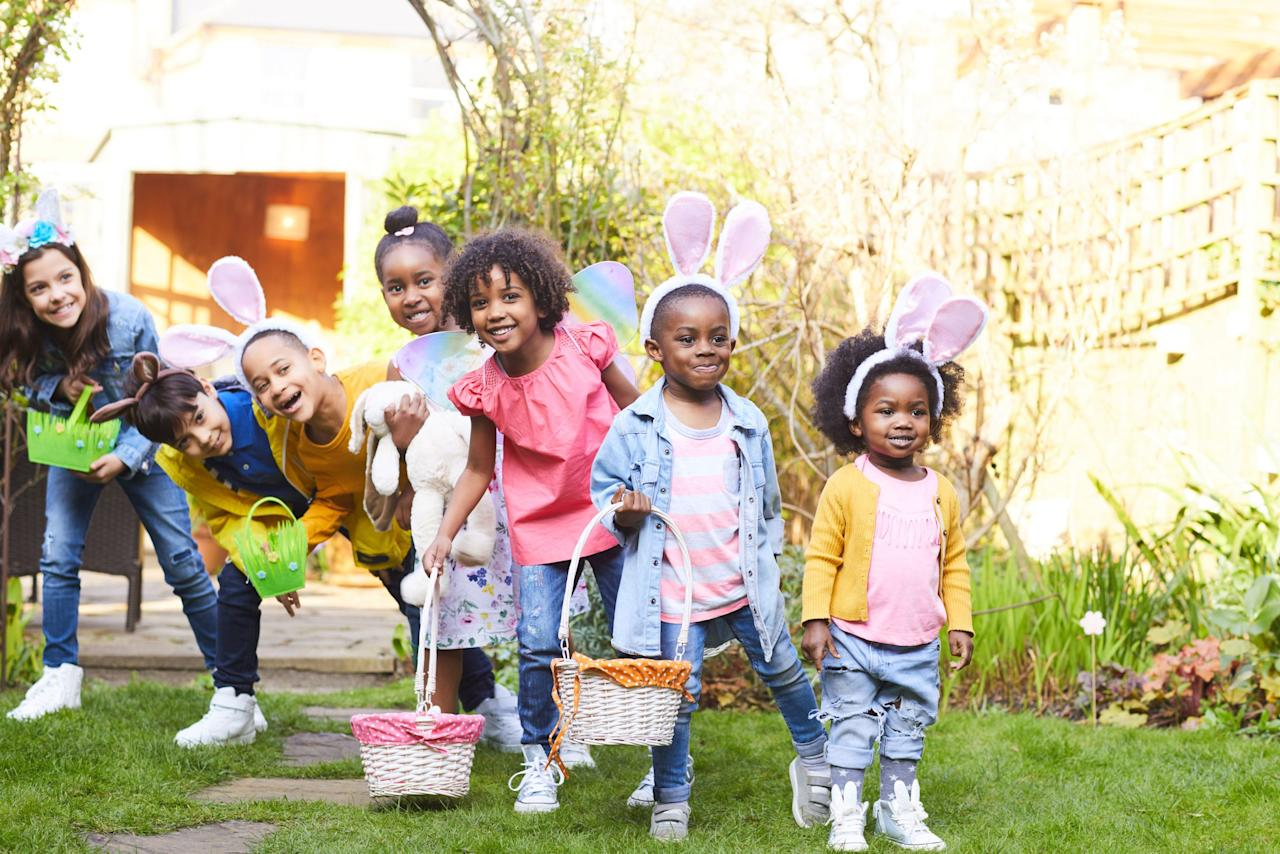 """<p>There is so much to love about <a href=""""https://www.womansday.com/easter/"""" target=""""_blank"""">Easter</a> — the family time, the pastel colors that remind you of spring, and the fun activities that come with the holiday. Of course, we're talking about Easter egg hunts. And although the traditional hide and hunt is a godo time, there are plenty of unique Easter egg hunt ideas that will take the event to the next level, whether that means hiding something other than candy or hiding a coveted golden egg. </p><p>Of course, things might be a little different for your family this year, given the new Corona-related restrictions. But social distancing doesn't mean you can't celebrate the holiday. In fact, it may even be more of a reason to keep the tradition going. Finding a reason to celebrate may help distract your family from the chaos and remind them that there is still some normalcy in the world. That said, if you do plan on hosting an Easter egg hunt for your family, make sure you're doing it in a private yard (or even inside) and practicing safety. </p>"""