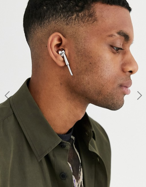 ASOS fake Apple Airpods