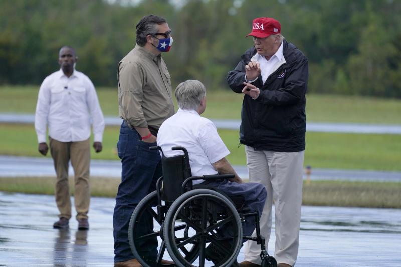 Trump Tropical Weather Texas