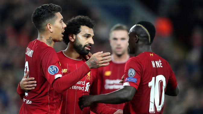 Pemain Liverpool. (AP Photo/Jon Super)