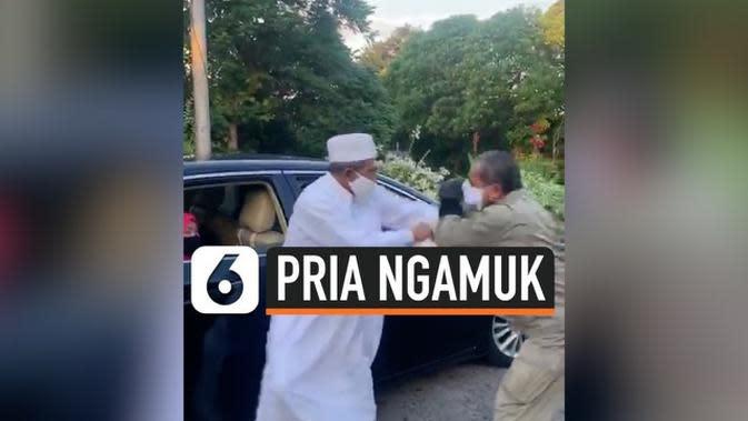 VIDEO: Habib Umar Assegaf Ngamuk ditegur Polisi Sempat Terjadi Baku Hantam