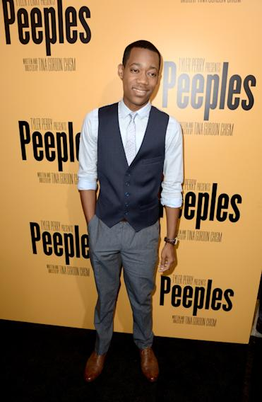 "Lionsgate Film And Tyler Perry Presents The Premiere Of ""Peeples"" - Red Carpet"
