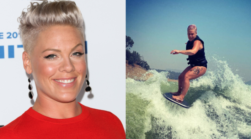 Pink (Images via Getty Images/Instagram)