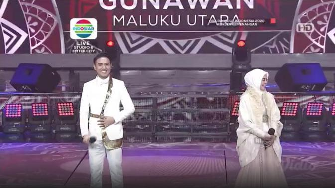 Gunawan Maluku Utara berduet dengan Lesti Kejora