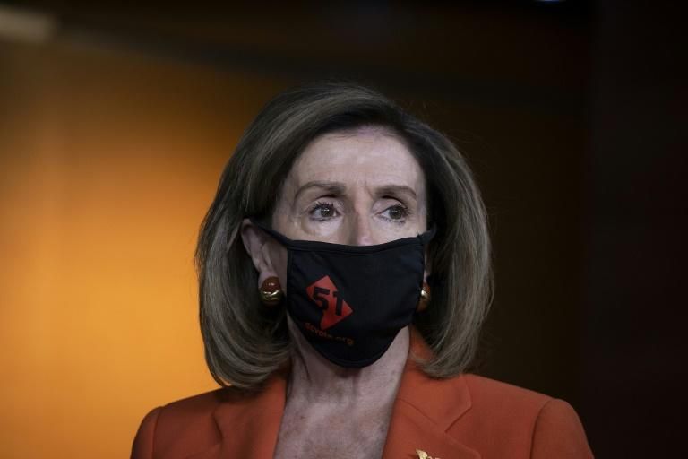 US Speaker of the House Nancy Pelosi has long supported statehood for Washington, DC, the capital city whose 700,000 residents have no voting representatives in Congress