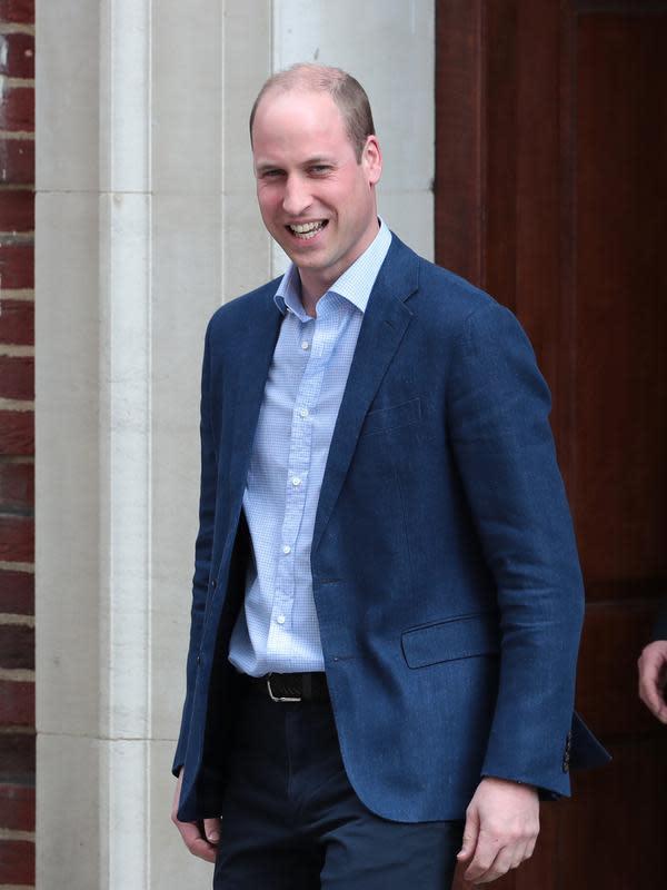 Pangeran William. (Daniel LEAL-OLIVAS / AFP)