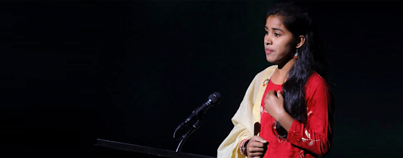Payal Jangid is the first Indian to receive the Changemaker Award from the Bill & Melinda Gates Foundation.