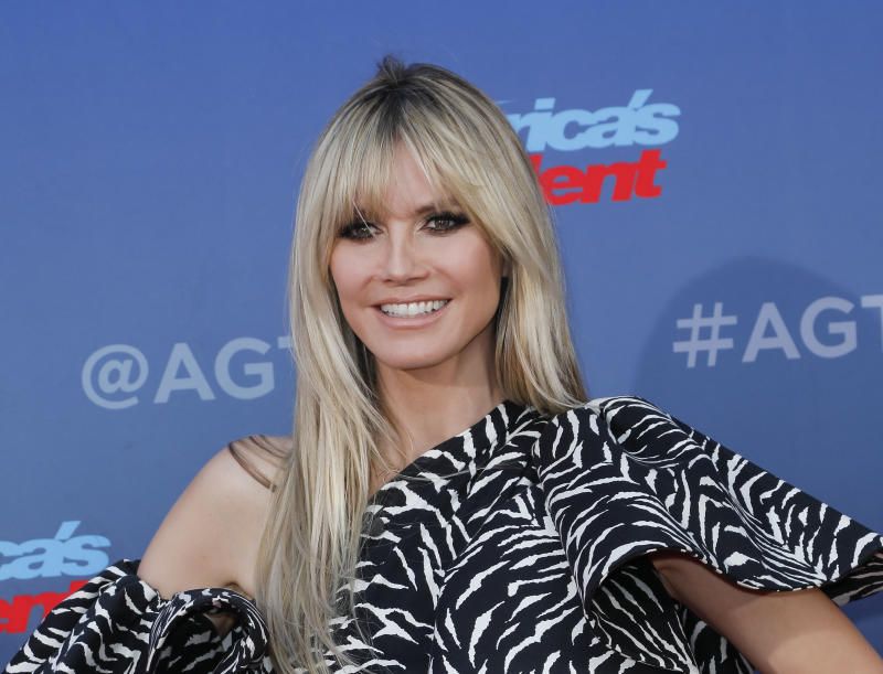 Heidi Klum says she's unable to get tested for coronavirus after asking two doctors.