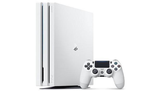 PS4 Pro Glacier White (Doc: PlayStation)