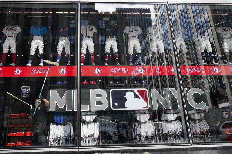 MLB Flagship Store Baseball