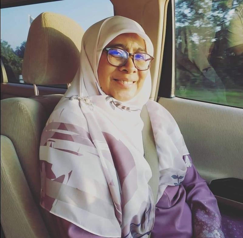 Maharani assemblywoman Nor Hayati Bachok has confirmed that she is positive for Covid-19 after her second test. — Picture courtesy of Nor Hayati Bachok's Facebook