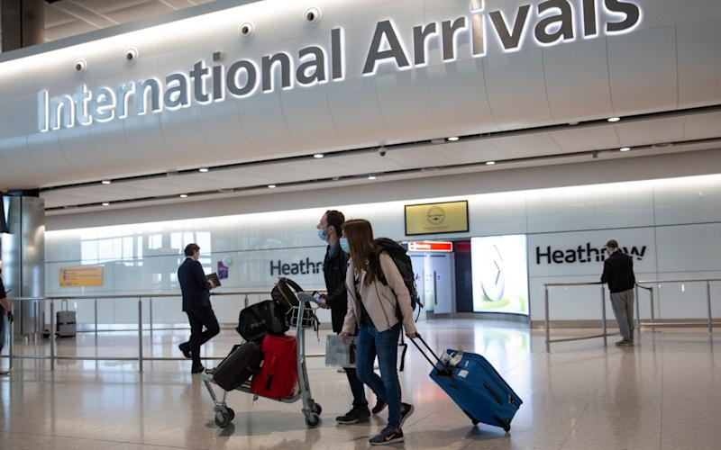 Heathrow is ready to host the UK's first airport Polymerase Chain Reaction testing trial - AP