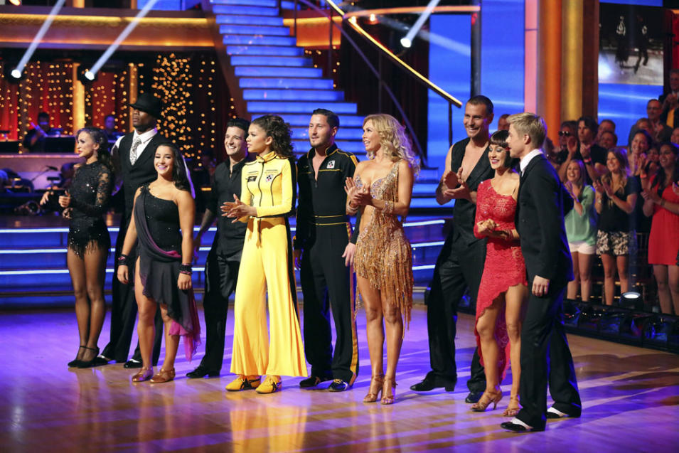 "The cast of ""Dancing With the Stars"" (5/13/13)"