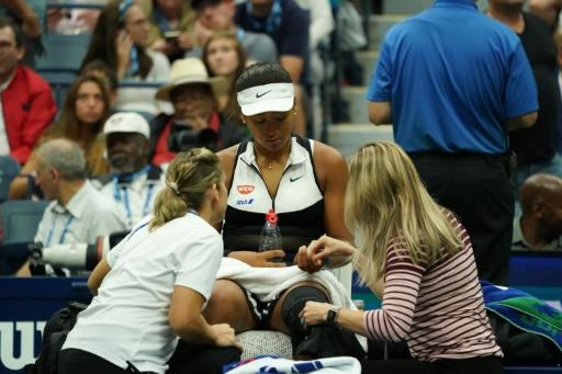 Naomi Osaka's US Open title defence ended by Belinda Bencic