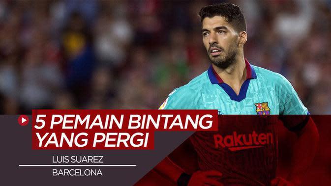 VIDEO: 5 Bintang yang Meninggalkan Barcelona di Bursa Transfer Musim Ini, Termasuk Luis Suarez