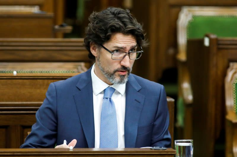 Canada's Trudeau: world has changed even if pandemic ends, vaccine found