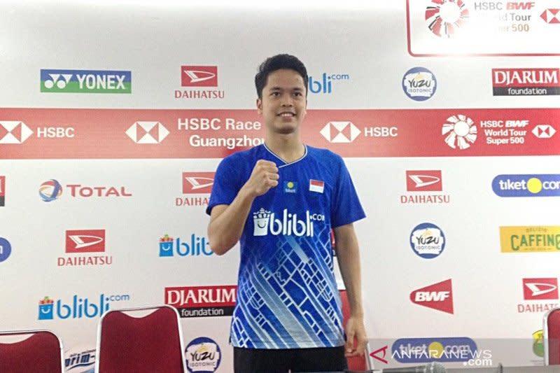 Indonesia Masters 2020, Ginting bersiap hadapi Tommy di babak dua