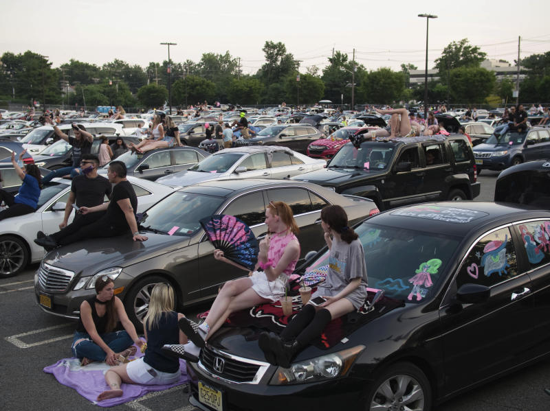 Mall Parking Lot-Drive Ins