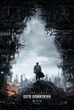 'Star Trek Into Darkness' poster is familiar-looking but revealing