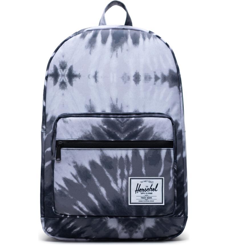Herschel Pop Quiz Backpack in Grey Tie Dye