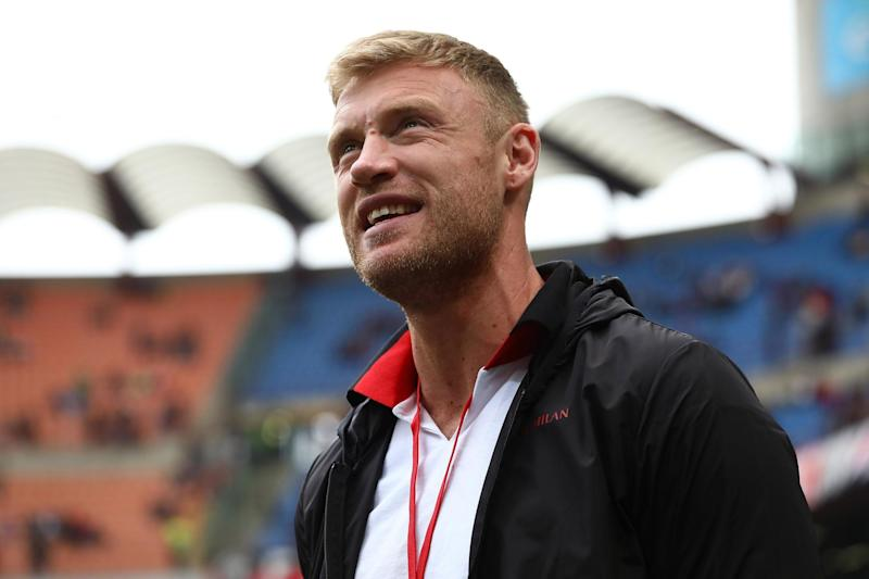 Flintoff developed the eating disorder during his playing career. (Getty Images)