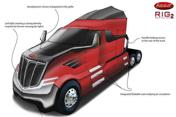 Crowdsourcing designers to create the big rigs of the future: Motoramic Dash