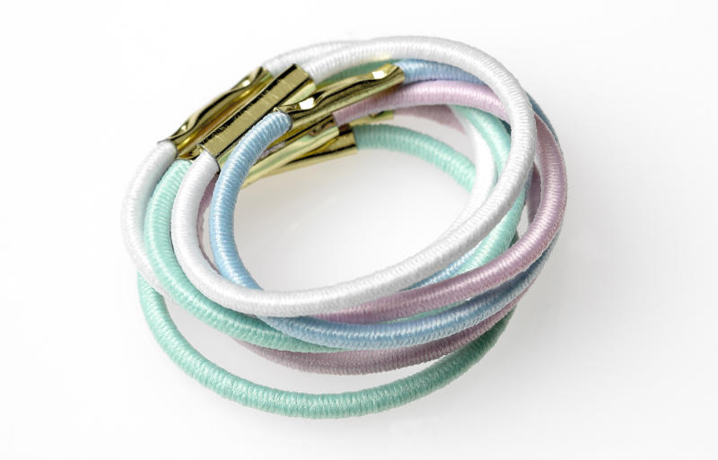 Elastic hair ties aggravated a woman's nerve damage after wearing them on her wrist every day for 30 years.