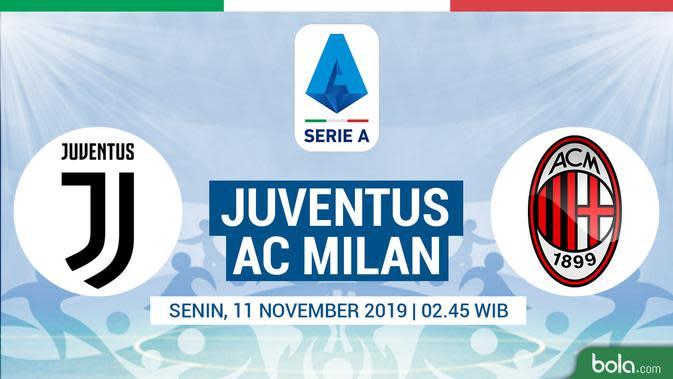 Serie A - Juventus Vs AC Milan (Bola.com/Adreanus Titus)