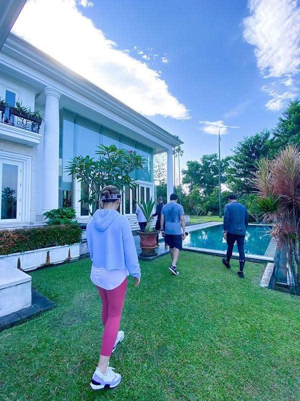 Rumah Reino Barack (Sumber: Instagram/princessyahrini)