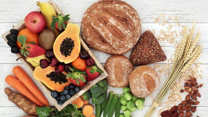Makanan yang Mengandung Karbohidrat Sehat (sumber: IStockphoto)
