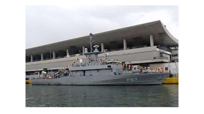 VIVA Militer : Kapal perang Roussen milik Angkatan Laut Yunani
