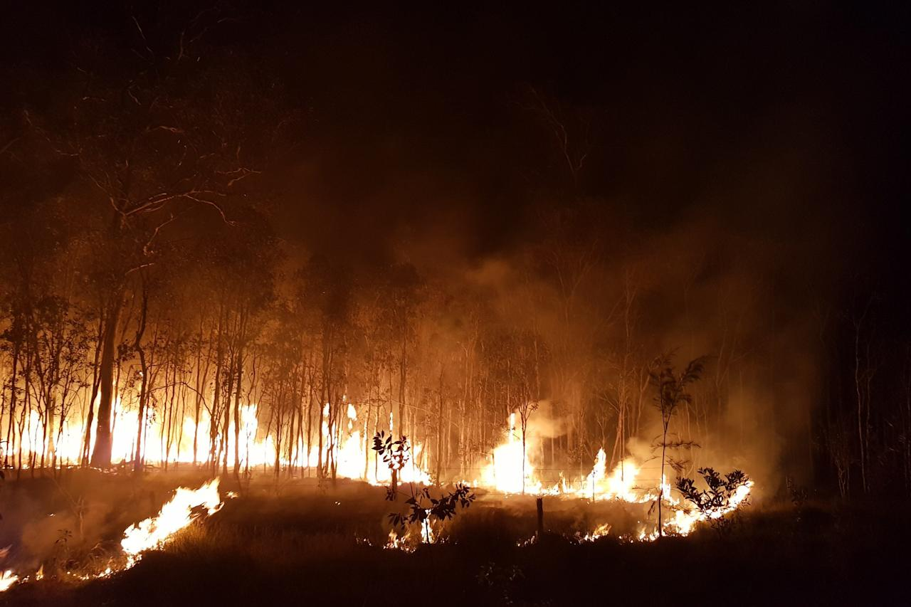 <p>Fire conditions in Deepwater, Central Queensland, were rated as potentially catastrophic. Source: AAP </p>