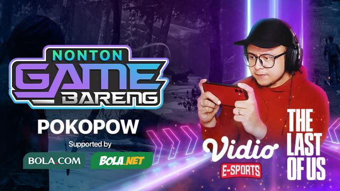 Jadwal Live Streaming Nonton Game Bareng Pokopow, Rabu 1 Juli 2020