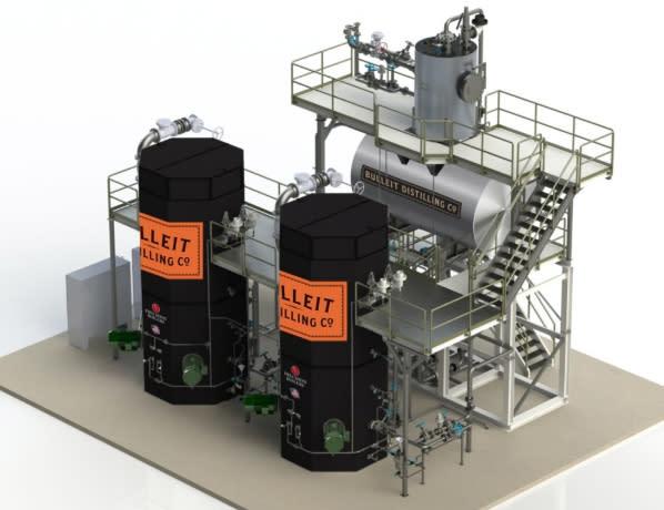 帝亞吉歐位於美國肯塔基州的新釀酒廠將使用電極鍋爐,減少碳排放。(圖片來源:Diageo官方網站)