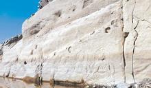 白河堡水落石出 摩崖石刻現身