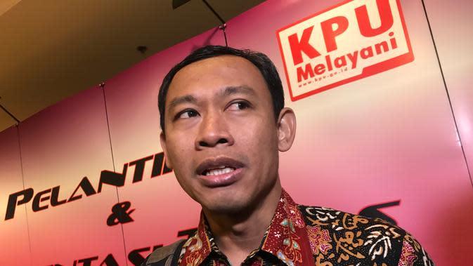 Komisioner KPU Pramono Ubaid Tanthowi. (Liputan6.com/Yunizafira)