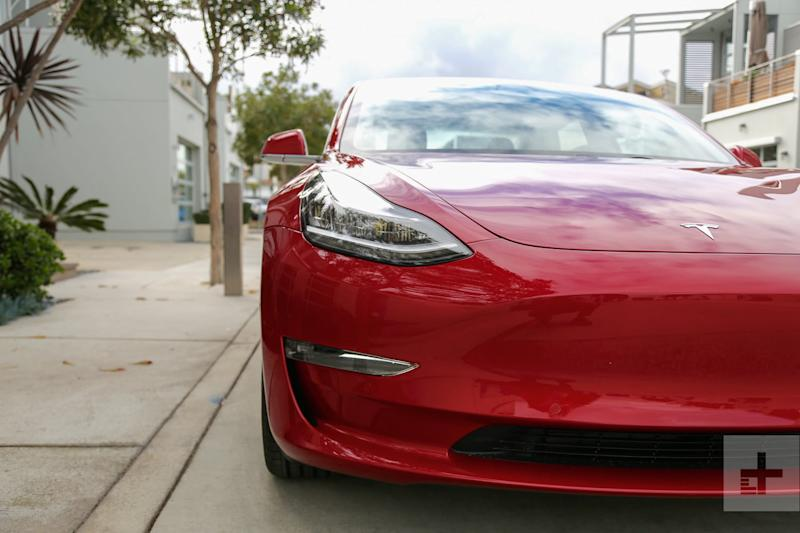 Tesla upgrades California-made Model 3 with a wireless charging pad, USB-C ports