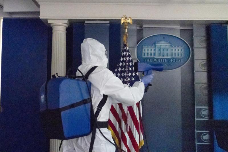 APTOPIX Virus Outbreak Trump